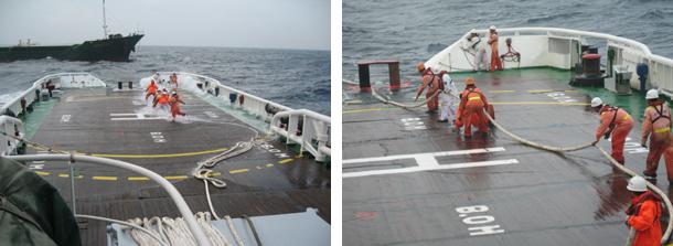 南海救助局永兴岛值班救助船成功救助外籍货轮 - liaodonger - wmliaodong 的博客